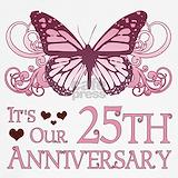 25th wedding anniversary Tank Tops