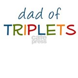 Dad of triplets T-shirts