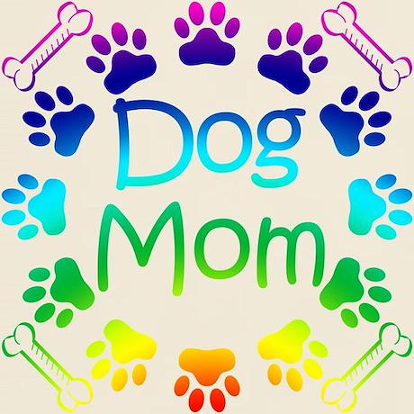 Rainbow Dog Mom