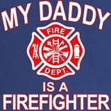 My daddy is a firefighter Maternity