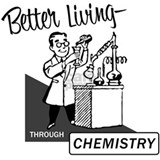 Better living chemistry T-shirts