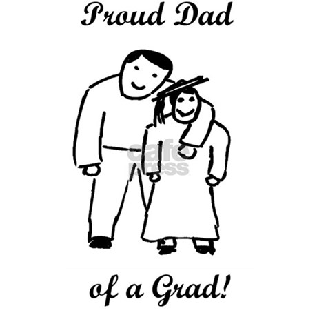 Proud Grad Dad-vertical-word Wall Decal by Admin_CP3030570