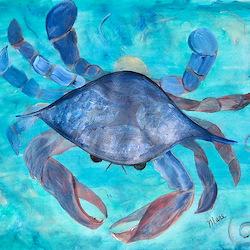Blue Crab Bedding Blue Crab Duvet Covers Pillow Cases