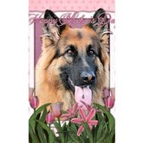 Long hair shepherd Wall Decals