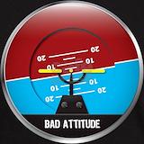 Bad attitude pilot T-shirts