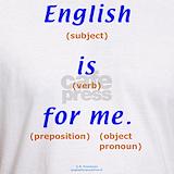 English teacher T-shirts