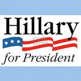 Hillary for president T-shirts