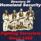 1492 fighting terrorism T-shirts