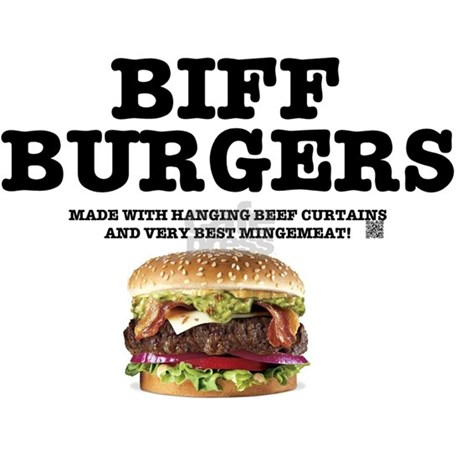 Curtains Ideas beef curtains images : BIFF BURGERS - BEEF CURTAINS, MINGEMEAT Mousepad by Admin_CP22871075