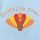 Daddy turkey Baby Bodysuits
