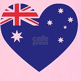 Australian flag Tank Tops