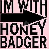 Honey badger Performance Dry T-Shirts