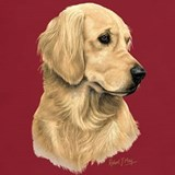Golden retriever tee shirts T-shirts