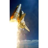 Nasa shuttle launch Wall Decals