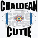 Chaldean flag Baby Bodysuits