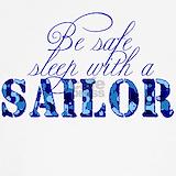 Be safe sleep with a sailor Tank Tops