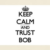 Keep calm and bob T-shirts