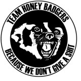 Team honey badger T-shirts