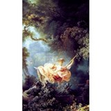 Fragonard swing Wall Decals