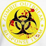 Zombie outbreak team Sweatshirts & Hoodies