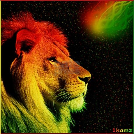 Rasta Lion Shot Glass by ADMIN_CP112214071