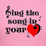 Love sing choir T-shirts