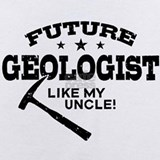 Uncle geologist Baby Bodysuits