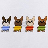 French bulldog Baby Bodysuits