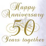 50th wedding anniversary Polos