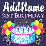 21st birthday Aprons