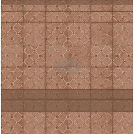 Brown Mosaic Tile Pattern Shower Curtain By Zazzlinghomedecor