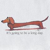 Wiener dog Bib