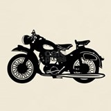 Retro motorcycle t shirts T-shirts