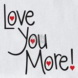 I love you more Bib