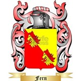 Ferns coat of arms Aprons