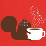 Coffee squirrel T-shirts