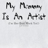 Artist baby Bib