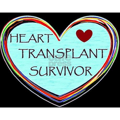 "Heart Transplant Survivor 2.25"" Button by ClariceLakota"