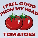 Tomatoes Baby Hats