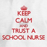 1 keep calm and trust a school nurse Sweatshirts & Hoodies