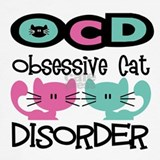 Cats ocd Tank Tops