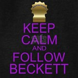 Keep calm and follow beckett Sweatshirts & Hoodies
