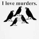 Murder of crows Tank Tops