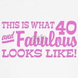 40th birthday funny Tank Tops