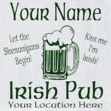 Irish pub Bib