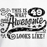 49th birthday Sweatshirts & Hoodies