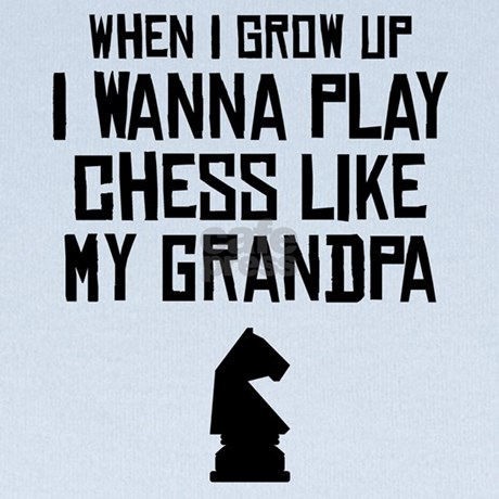 Grandpa plays chess and fucks a young girl
