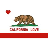 California love Baby Hats