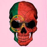 Portugal skull shirt Tank Tops