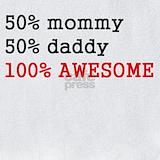 100%25 awesome Bib